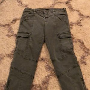 J brand houlihan cargo skinny zip pants jeans 29